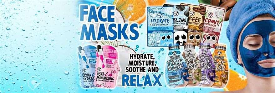 FACE MASKS & SKINCARE