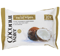 Coconut Water Hydrating Face Wipes x25