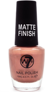 W7 Matte Finish Nail Polish - Matte Rose Gold