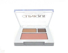 Clinique All About Shadow Duo & Soft Powder Blush - Chocolate Bark