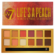 W7 Life's A Peach Eye Shadow Palette