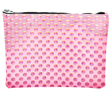 W7 Pink Bubble Design Cosmetic Bag