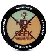 W7 Hide 'N' Seek Anti-Redness Concealer Quad - Green
