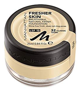 Manhattan Fresher Skin Breathable Foundation - Classic Ivory