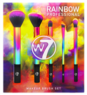 W7 Rainbow Professional Brush Set