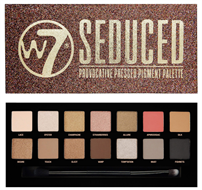 W7 Seduced Pressed Pigment Eye Shadow Palette