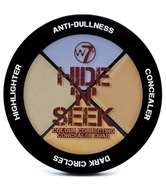 W7 Hide 'N' Seek Anti-Dullness Concealer Quad - Lavender