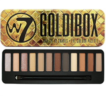 W7 Goldibox Eye Shadow Palette