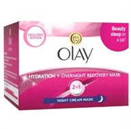 Olay Hydration & Overnight Recovery Mask Night Cream 50ml