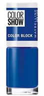 Maybelline Color Show Nail Polish - Blue Blocks