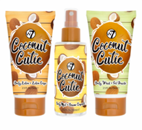W7 Coconut Cutie Travel Trio Set