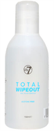 W7 Total Wipeout Nail Polish Remover Acetone Free 150ml