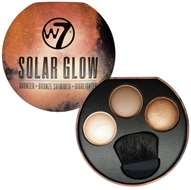 W7 Solar Glow GIANT Bronzer & Highlighting Palette