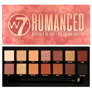 W7 Romanced Eye Shadow Palette