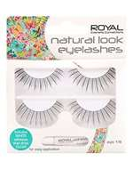 Royal Natural Look Eyelashes - 2 Pairs - Style 118