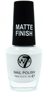 W7 Matte Finish Nail Polish - Matte White