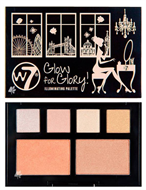 W7 Glow For Glory Highlighting & Illuminating Palette