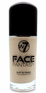 W7 Face Fantasy Matte Finish Foundation - Sand