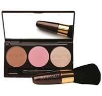 Sunkissed Bronze & Contour Pallete And Brush Kit