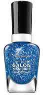 Sally Hansen Complete Salon Sequin Overcoat Over The Rain-Blue