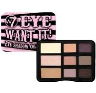 W7 Eye Want It! Nine Eye Shadow Collection