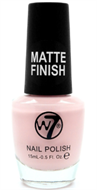 W7 Matte Finish Nail Polish - Matte Pink