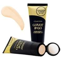 Collection Cover & Go Foundation & Concealer Duo - Ivory 35ml