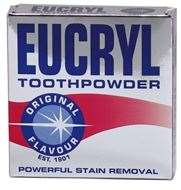 Eucryl Tooth Powder Powerful Stain Removal - Original