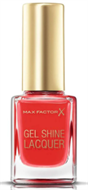 Max Factor Gel Shine Nail Lacquer - Patent Poppy