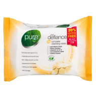 Pure Age Defiance Face Wipes x30