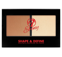 W7 Ebony Shape & Define Sculpting & Highlighting Palette - Light