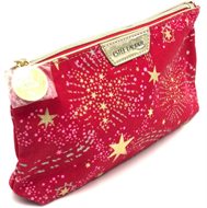 Estee Lauder Red Starry Makeup Bag