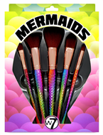 W7 5 Piece Professional Mermaid Brush Collection