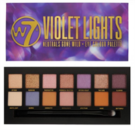 W7 Violet Lights Eye Shadow Palette