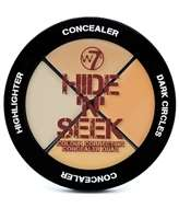 W7 Hide 'N' Seek Concealer Quad - Natural