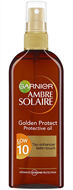 Garnier Ambre Solaire Golden Protect Oil Spray SPF10 150ml