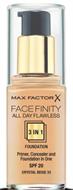 Max Factor Face Finity Flawless Foundation - Crystal Beige