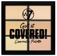 W7 Got It Covered Full Coverage Concealer Palette