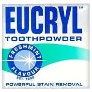 Eucryl Tooth Powder Powerful Stain Removal - Freshmint
