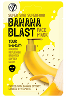W7 Super Skin Superfood Face Mask - Banana Blast