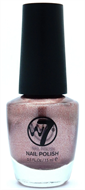 W7 Sparkle Finish Nail Polish - Rose Gold