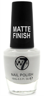 W7 Matte Finish Nail Polish - Matte Grey