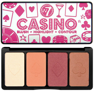 W7 Casino Highlight & Contour Palette