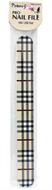 Pinkees Professional Burberry Design Nail File