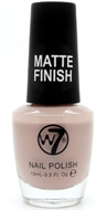 W7 Matte Finish Nail Polish - Matte Beige