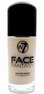 W7 Face Fantasy Matte Finish Foundation - Buff